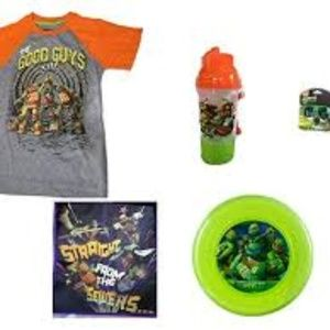 Teenage Mutant Ninja Turtles T-Shirt & Fun Set